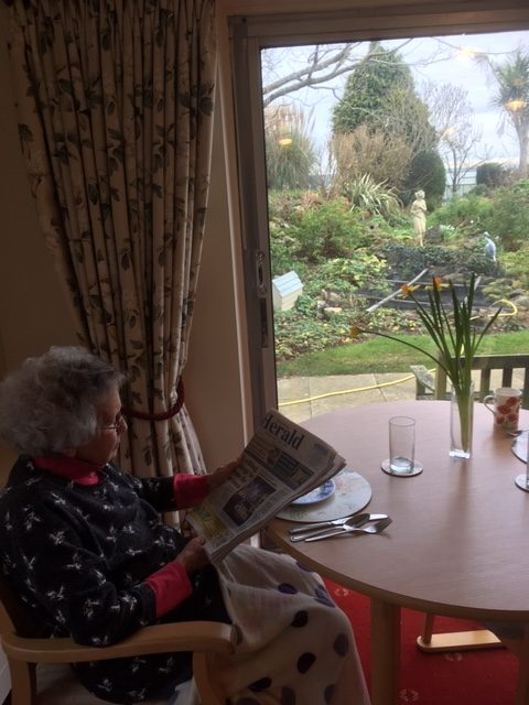 Reading the Worthing Herald | Elderly Care Worthing