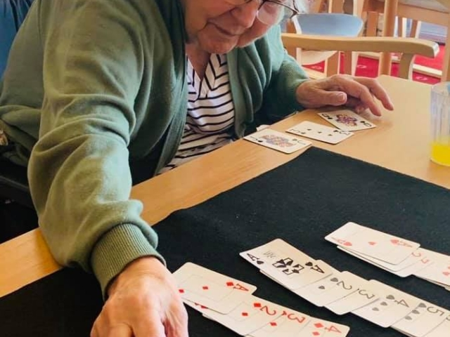 Afternoon card games | Elderly Care Worthing