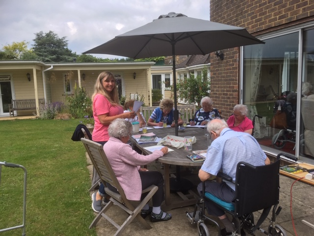 Afternoon fun with Nikki | Elderly Care Worthing
