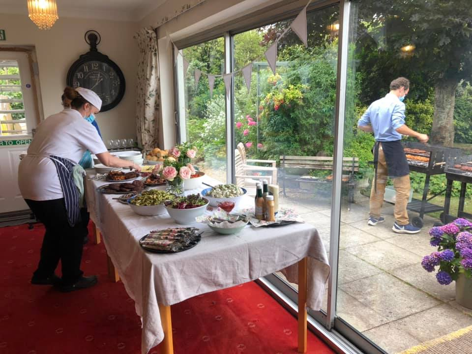 Summer BBQ | Country Lodge Nursing Home in West Sussex