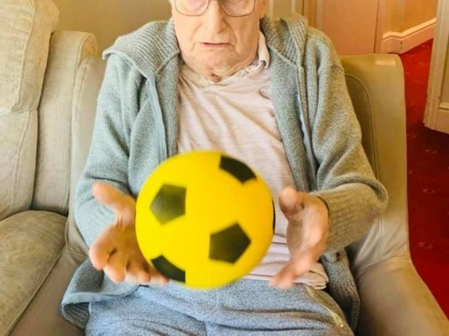 Ball games | Country Lodge Nursing Home West Sussex