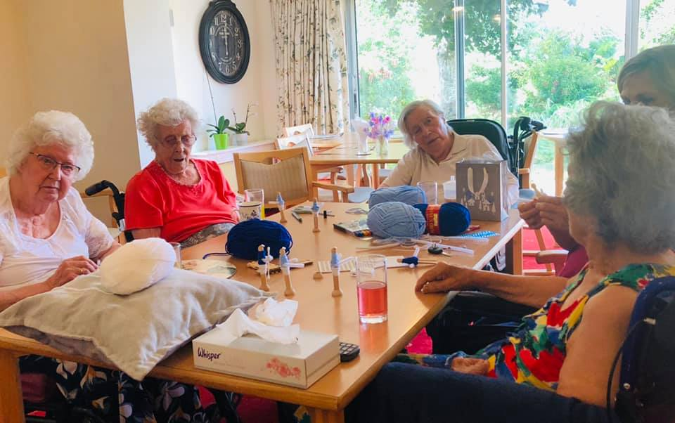 Crafting dolls | Country Lodge Nursing Home in West Sussex