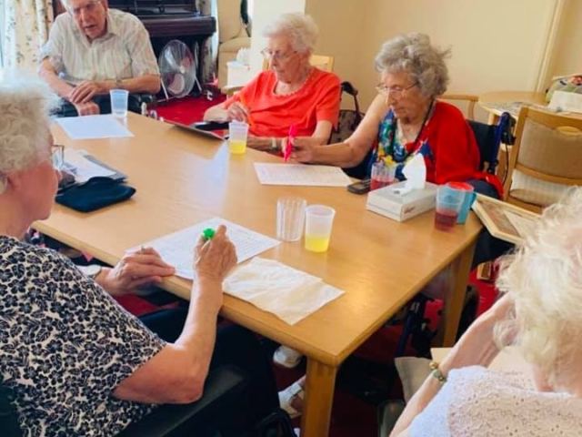 Exercising their brains | Country Lodge Nursing Home in West Sussex