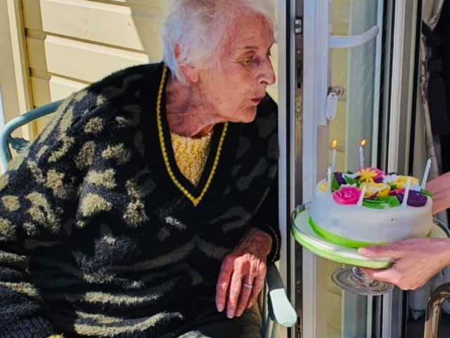Happy Birthday Thelma | Country Lodge Nursing Home in West Sussex