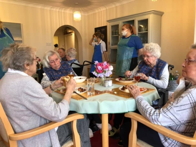 Meal time | Country Lodge Nursing Home in West Sussex