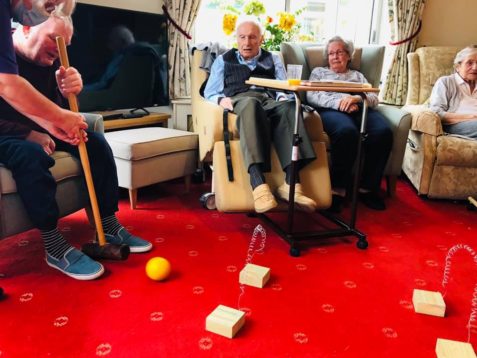Croquet fun | Country Lodge Nursing Home in West Sussex