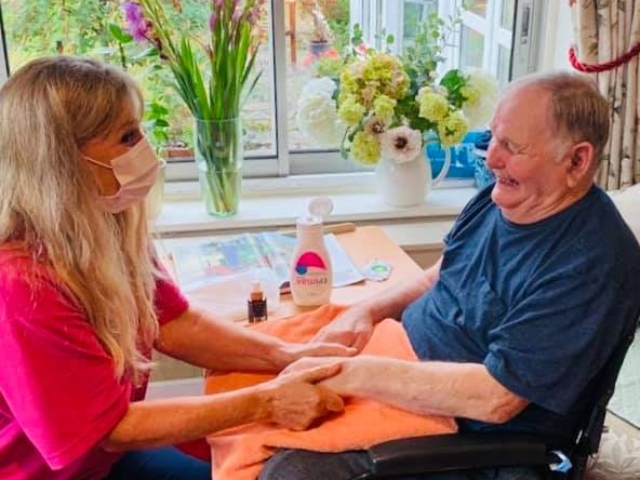 Nail pampering  | Country Lodge Nursing Home West Sussex