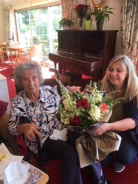 Happy birthday Pat | Elderly Care Worthing