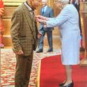 Martin receives his MBE