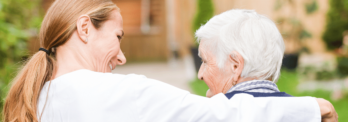 Viewing care homes