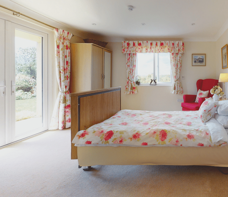Worthing care homes room