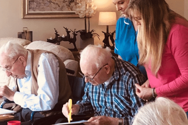 Parkinsons care at Worthing care home