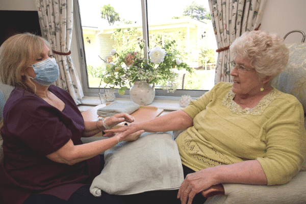 Personal care at Worthing care homes