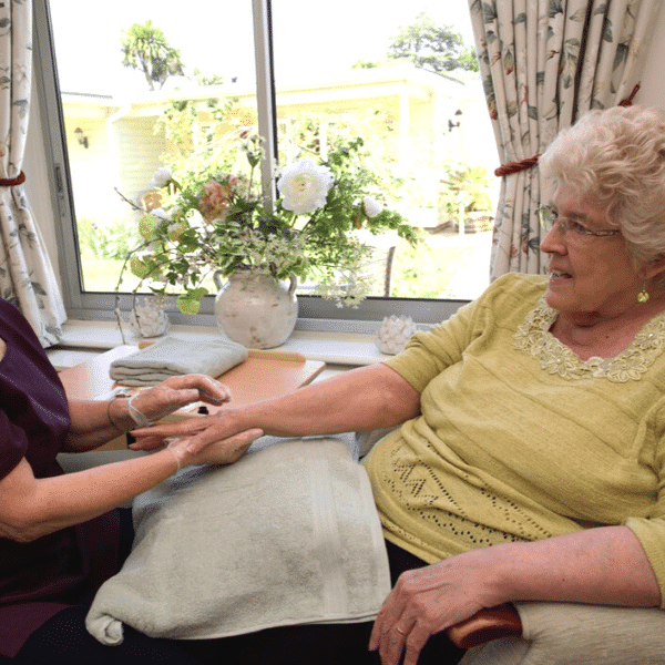 Personal care at nursing home Worthing