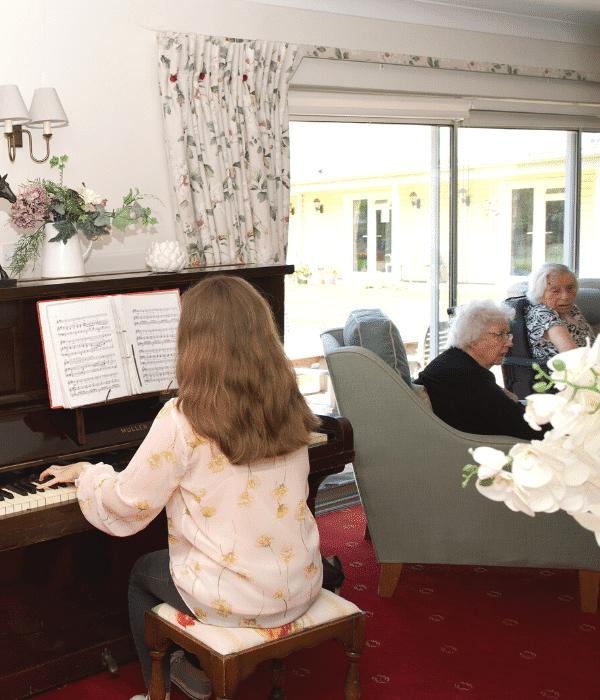 Activities at nursing homes in Worthing